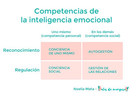 Competencias de la inteligencia emocional